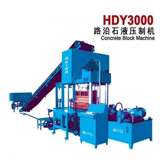 hydraulic press block machine